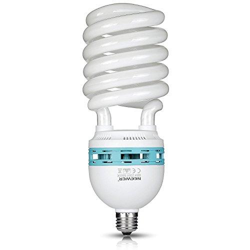 Neewer 85W 220V 5500K Tri-phosphor Spirallampe CFL Tageslicht Ausgewogene -