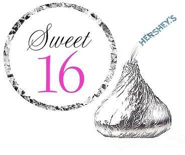cakesupplyshop-item4366y-216-sweet-16-birthday-party-favor-hersheys-kisses-stickers-labels-by-cakesu