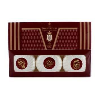 Truefitt & Hill 1805 Luxury Soap (Triple) 3x150g/5.25oz - Parfum Herren (Burton-schaum)