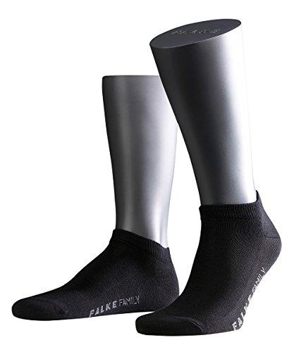 falke sneaker socken herren 3 Paar Falke Socken 14626 Family Sneaker Sommerlicher Kurzstrumpf, Farbe:Black 3000;Socken & Strümpfe:43-46