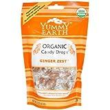 YumEarth - Caramelos Orgánicos con sabor a Jengibre - 30 unidades