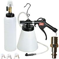 Kit de purgador de frenos de aire de 1 litro para aspiradora neumática de embrague y