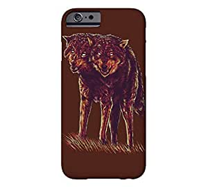 2heads iPhone 6 Black bean Barely There Phone Case - Design By FSKcase?