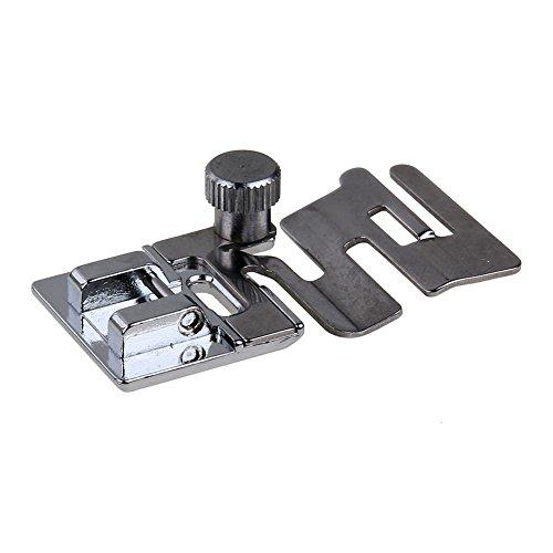 TOOGOO 1 stueck Elastische Cord Band Stoff Stretch Inlaendischen Naehmaschine Fuss Presser Snap Auf Naehwerkzeuge DIY Naehzubehoer Cord-snap