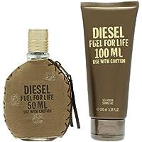 Diesel Fuel For Life pour Homme Giftset, Eau de Toilette Spray, gel de ducha, 1er Pack (1x 150g)