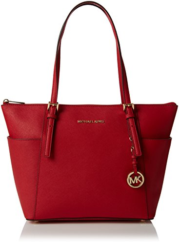 et Set Item Tote, Rot (Bright Red), 11.4x25.4x38.1 centimeters ()