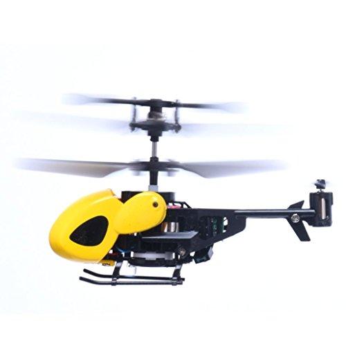 Preisvergleich Produktbild Kingko® Geben Sie dem Kind ein cooles Geschenk kühlen super Spaß RC 5012 2CH Mini Rc Hubschrauber Radio Fernbedienung Flugzeug Micro 2 Kanal (Gelb)