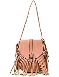 Shopclans Brown Color Handbag For Girls / Women's (SPC-085)