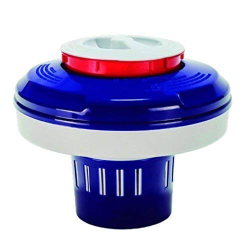 well2wellness® Chlor Dosierschwimmer/Chlordosierer \'Grande\' für große Chlortabletten bis 500g und Anzeige Füllstand (023889)