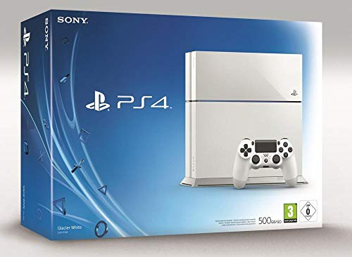 PlayStation 4 - Konsole (500GB, weiß) [CUH-1116A] - Bundle Vita Ps Sony