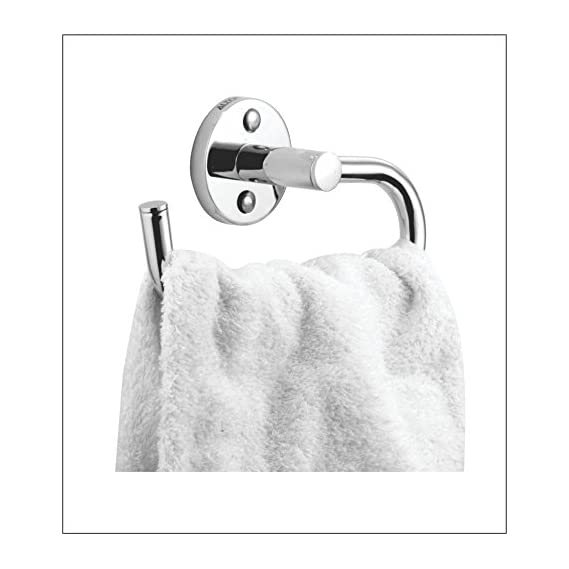 ALTON ALERT 2211 Brass Towel Ring (Chrome)