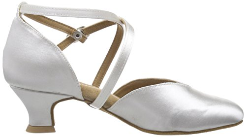 Diamant Brautschuhe Standard Tanzschuhe 107-013-092, Damen Tanzschuhe – Standard & Latein, Weiß (Weiß), 44 EU (9.5 Damen UK) - 6
