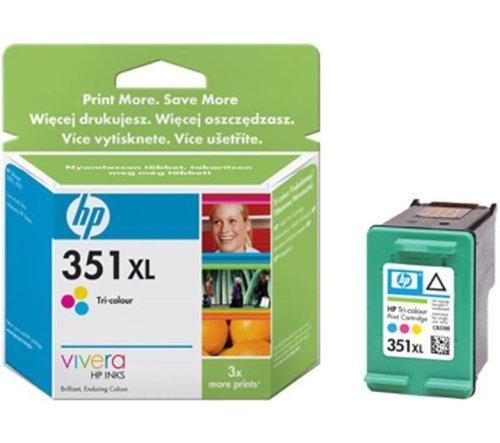 Preisvergleich Produktbild HP 351X L–Tintenpatrone–1x Farbe (cyan, magenta, gelb)