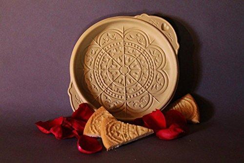 Brown Bag Rose Window Shortbread Cookie Pan by Brown Bag Brown Bag Shortbread Pan