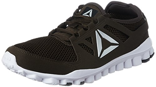 Reebok Men's Travel Tr Pro Earth/White/Metsil/Black Multisport Training Shoes - 6 UK/India (39 EU) (7 US)