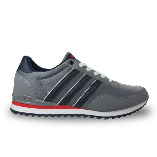 adidas Jogger CL, Herren Turnschuhe, Grau (Gris/Maruni/Escarl), 40 2/3 EU (Grau Sportschuhe)
