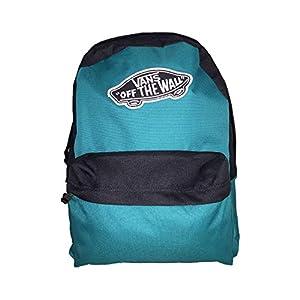 Vans – VN0A3UI6UW5, Mochila Realm Backpack, Verde, Talla única