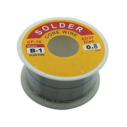50g Étain Plomb Flux Souder Rosin À Souder 63/37 0.8mm pour Soudeur Fil de Fer À Souder Fer à Souder Fils de Soudage
