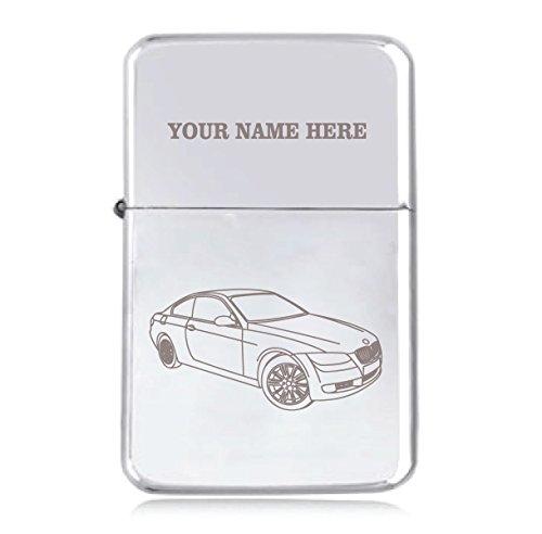 BMW 320Design–personalisierbar Star winddicht Benzin Feuerzeug