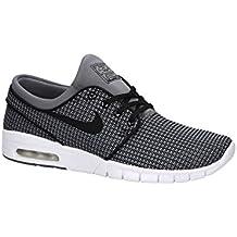 huge discount f63a5 140aa NIKE Herren SB Stefan Janoski Max Grau Synthetik/Textil Sneaker