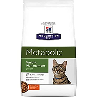 Hills Prescription Diet Metabolic Feline Cat Food, Weight Management, 4 kg
