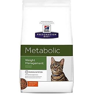 HILL'S Presciption Diet Féline Metabolic - Nourriture pour Chat - Maintien de poids - 4 kg