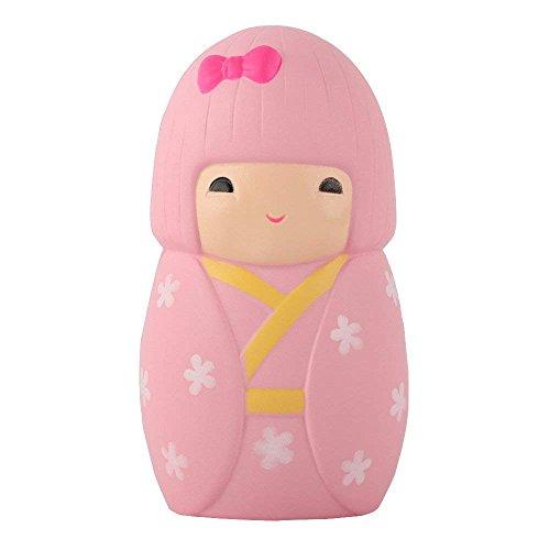 Morbuy Squishies Spielzeug, Squishies Slow Rising Charme Stress Relief Spielzeug Schlüssel Ketten Charms Kinder Spielzeug Dekor Geschenk (Japanische Frau) (Japanische Charms Für Telefon)