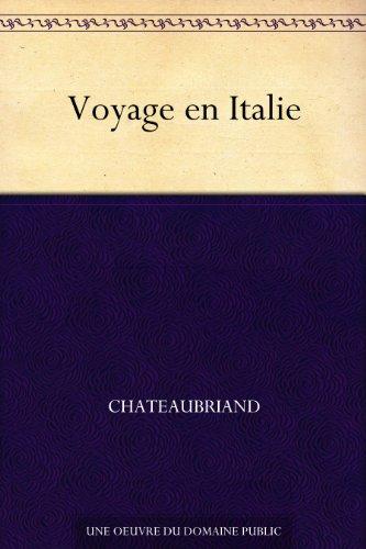 Couverture du livre Voyage en Italie