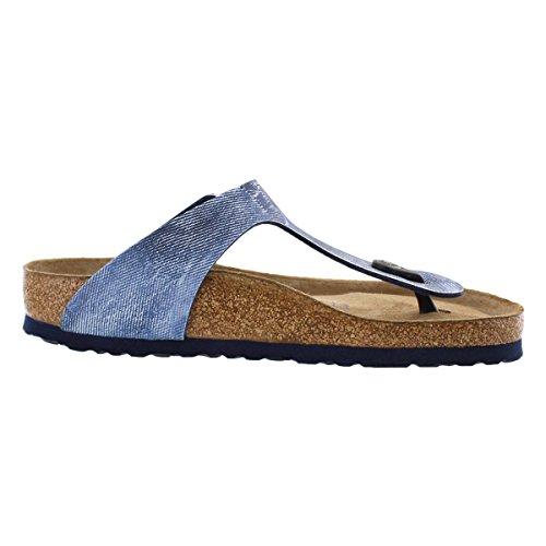 BIRKENSTOCK gizeh sfb UNISEX SANDALI-SCARPE MARE Used Jeans Blue
