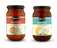 Pursuit Hot and Sweet Lime Pickles