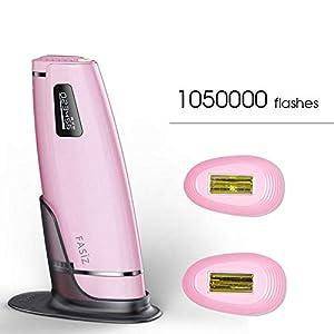 FANPING 3in1 1050000pulsed IPL Laser-Haarentfernung Gerät Dauerhafte Haarentfernung IPL Laser Epilierer Achselhaarentfernung Maschine (Color : Rosa)
