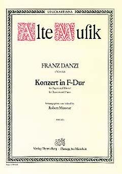 KONZERT F-DUR - arrangiert für Fagott - Klavier [Noten / Sheetmusic] Komponist: DANZI FRANZ