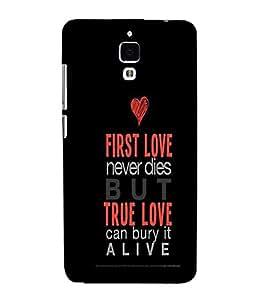 PrintVisa Designer Back Case Cover for Xiaomi Redmi Mi 4 :: Redmi Mi 4 (Quote Love Heart Messages Crazy Express Sorry )