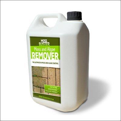 Moss Terminator Moss amp; Algae Remover - 5 litre Moss Killer and Preventor