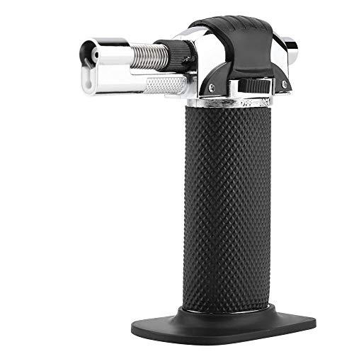 Fditt - Encendedor portátil de Gas butano Recargable, Resistente al Viento, para...