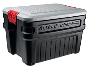 Rubbermaid 1172 ActionPacker Storage Box, 24 Gallon by Rubbermaid Commercial