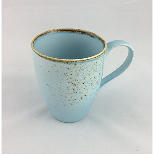Kaffeetasse Kaffeebecher Teetasse NATURE COLLECTION HELLBLAU | Steinzeug | 300 ml