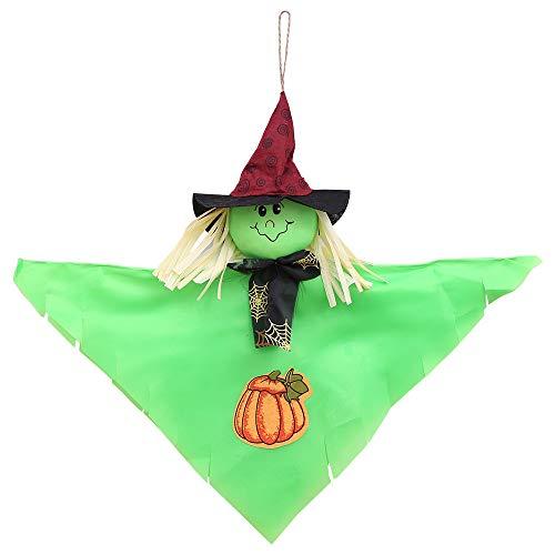 QinMM W Halloween Spielzeug Scary Ghost String,Kreative Halloween Anhänger Ornamente Filz Halloween Sunny Doll Decor