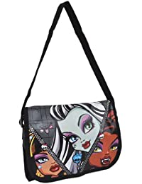 Monster High - Petit Sac Messenger - Frankie Stein, Clawdeen Wolf et Cleo de Nile - Nouvelle Collection Automne/Hiver 2013-2014