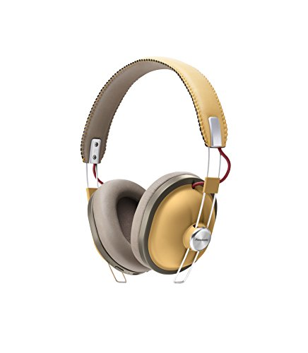 PANASONIC RP-HTX80BE-C Bluetooth Wireless Over-Ear Headphones - Tan Best Price and Cheapest
