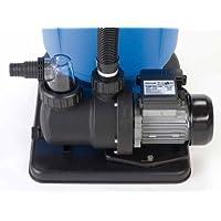 Steinbach Sandfilteranlagenzubehör Filterpumpe SPS75-1, Schwarz, 142 l/min / 450 W / 230 V