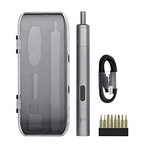Mini Tournevis Électrique De Précision Compact Sans Fil Rechargeable Smart Gyro Motion Control USB Chargeur 8 Insert Drill Kit