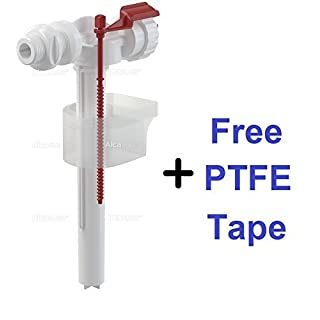 WC Toilet Float Valve - Side Inlet - 1/2 Pipe Thread - Cistern valve by Alca Plast
