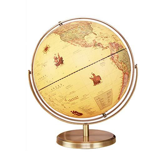 Xiaoqin 32cm Desktop Globe - Pädagogisch/Geographisch / Modern Desktop Dekoration