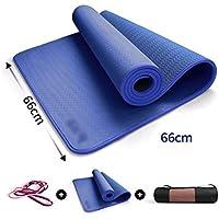 THOR-YAN Colchonetas de Yoga- Gimnasio en casa Ejercicio Matt Fitness  Mujeres Hombres Entrenamiento e7a4ad97ca94