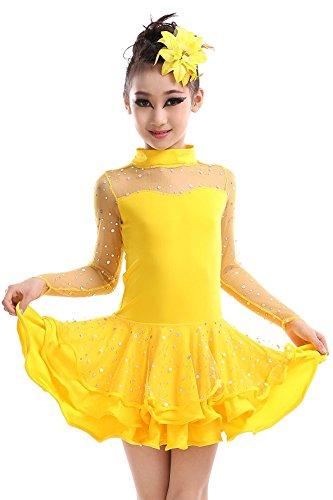 n Tanz Rock Frühling und Sommer Mädchen Performance Kostüme (Mädchen Ideen Für Halloween Kostüme)