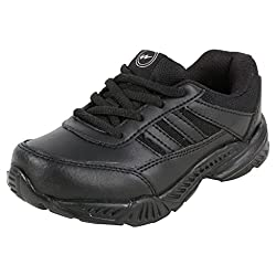 Action Campus Baby Kids 5 to 8 Years Black Ultra Light School Shoes, 13CUK