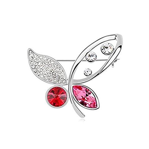 MURTOO Bijoux Femme Broche /Pin Forme Le Papillon Volant par
