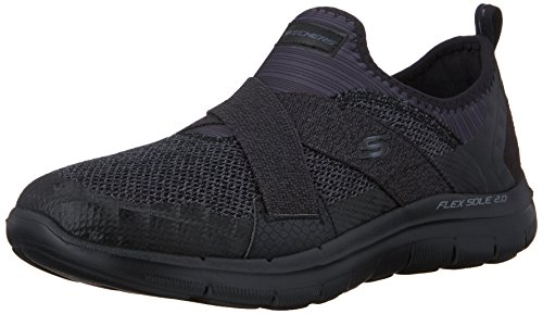 skechers-flex-appeal-20-new-image-zapatillas-para-mujer-negro-bbk-38-eu
