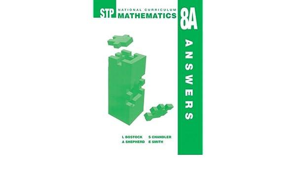 Buy STP National Curriculum Mathematics 8A Answer Book